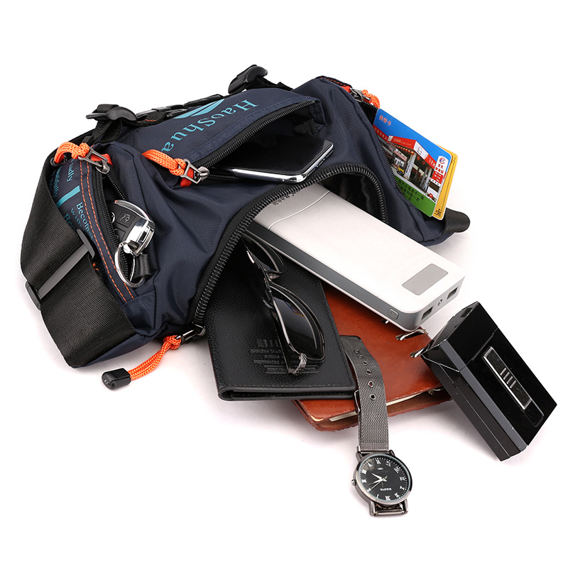 Multifunctional outdoor cycling and mountaineering pockets Sports one-shoulder messenger bag