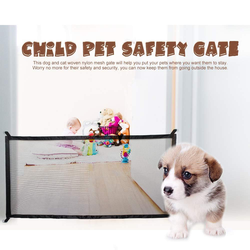 Portable child and pet safety door