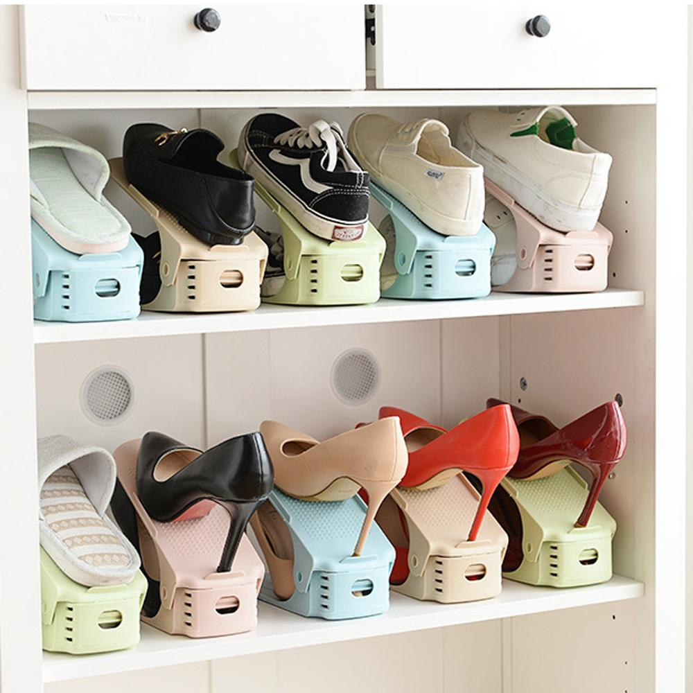 Today 50% OFF - 2019 NEW Double Deck Shoe Rack