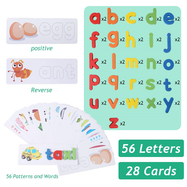 Wooden Spelling Learning Toy