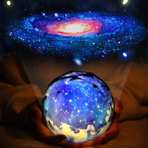 2020 Hot Sale-The Universe Magic Projector LED Lamp