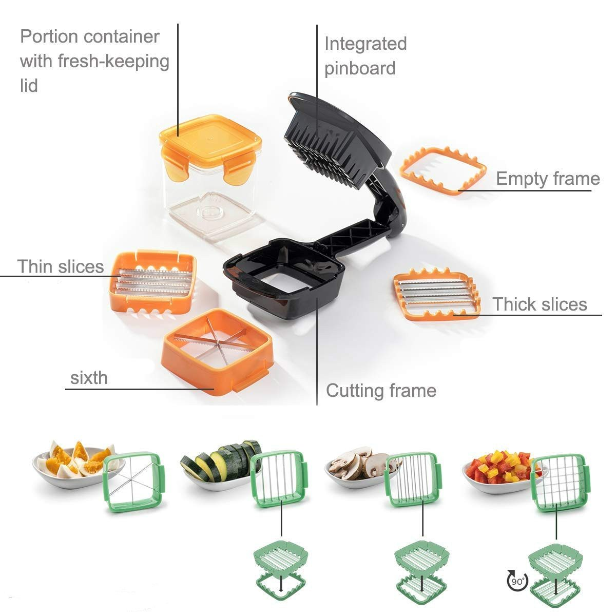 SKRTEN Rapid Vegetable Kitchen Dicer Set