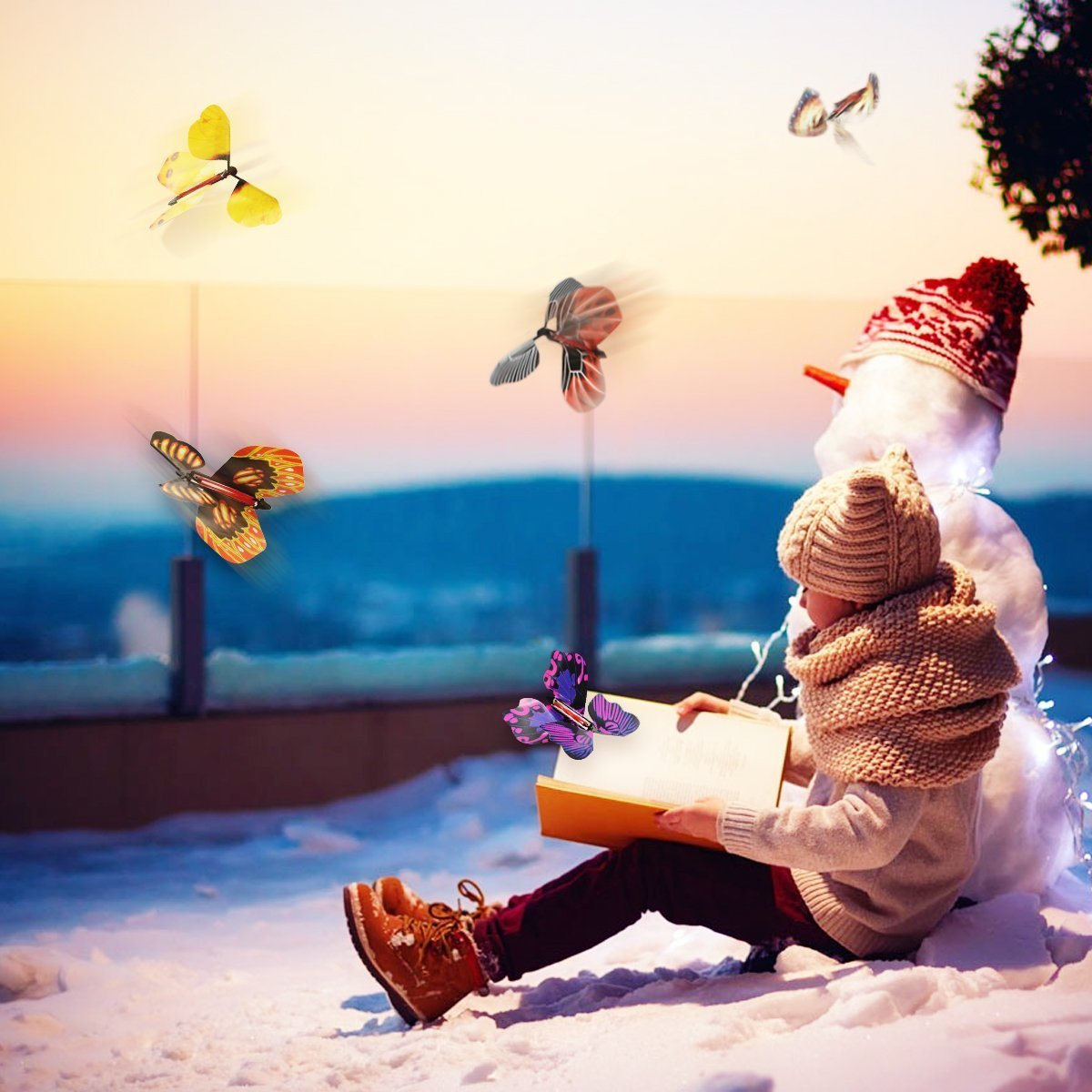 ☃【Winter Sales】❄Magic Flying Butterfly