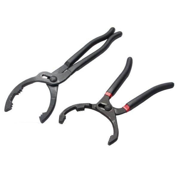 Adjustable Oil Filter Pliers - Ideal For Engine Filters, Conduit, Fittings