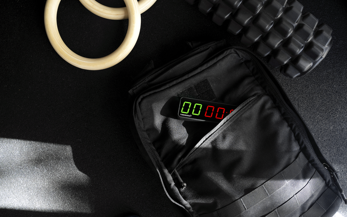A durable and visible GYM Timer for your work out