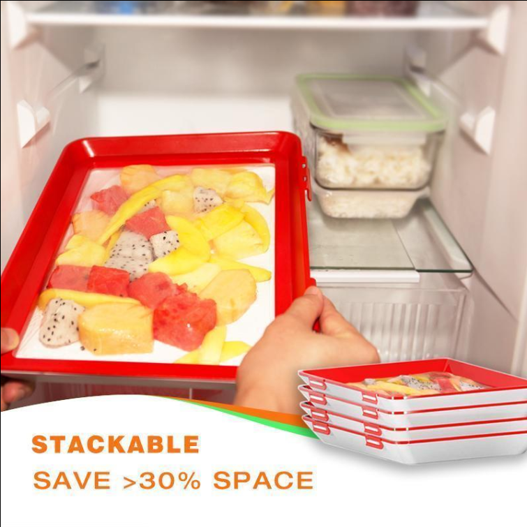 2020 Fresh Food New Idea - Creative Food Preservation Tray