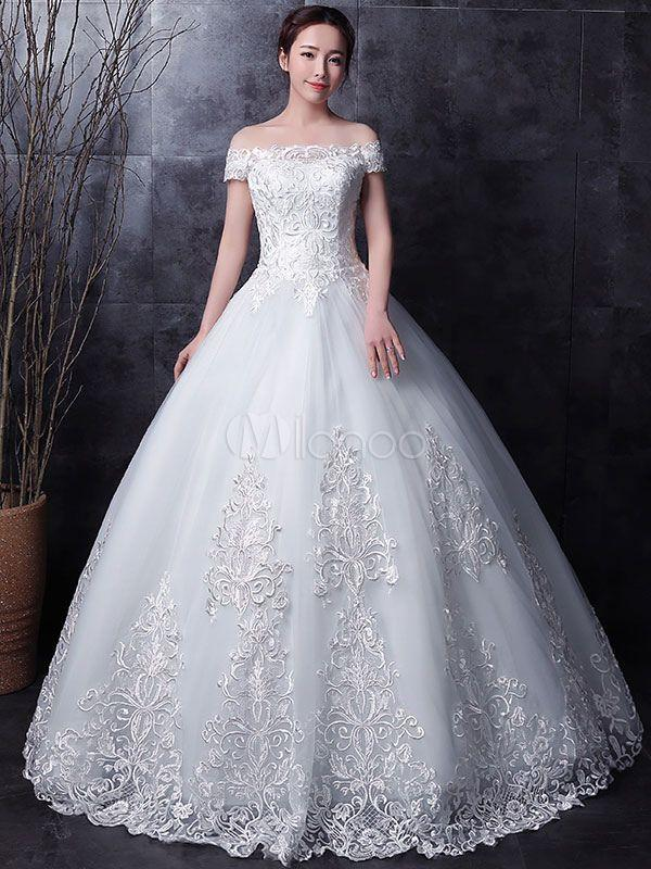 Fashion And Beautiful Extravagant Wedding Dresses For Girl