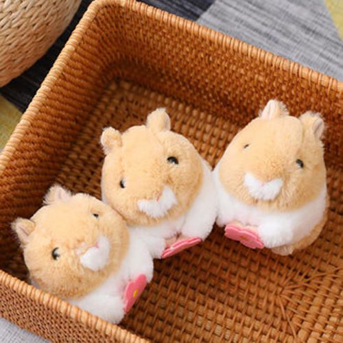 Buy 2 Get 1 Free💝Clockwork wagging tail cute hamster