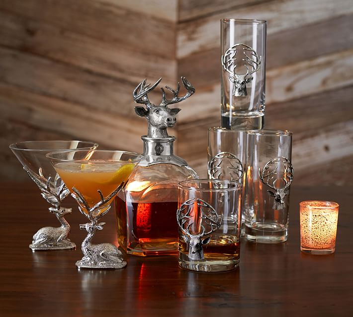 🔥Biggest Annual Promotion🦌Stag Martini Glasses