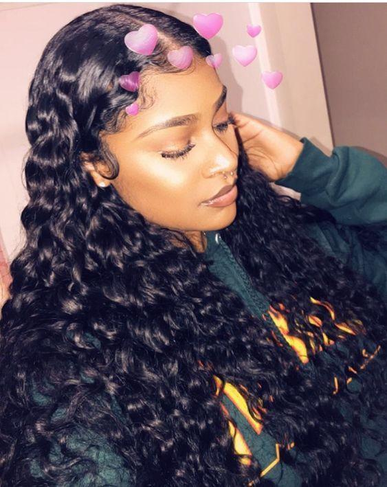 Human Hair Swiss Lace Wigs Multi Color Lace Front Wigs