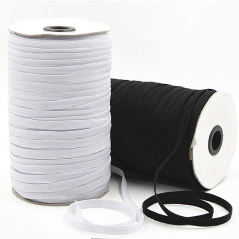 3/6/8/10/12mm 10yards High Elastic Sewing Elastic Ribbon Elastic Spandex Band Trim Sewing Fabric DIY Garment Accessories