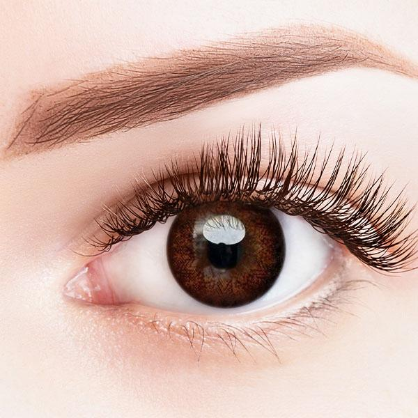 Star Light Brown Yearly Colored Contact Lenses