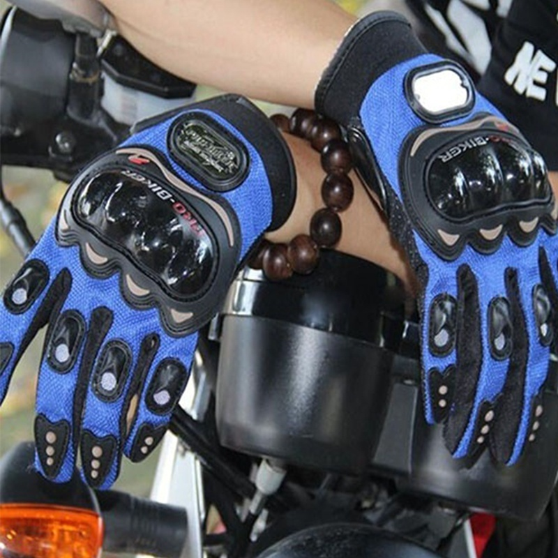 Fashion Racing Windproof Waterproof Gloves Full/Half Finger Motorcycle Protective Gloves Cycling Touch Screen Gloves