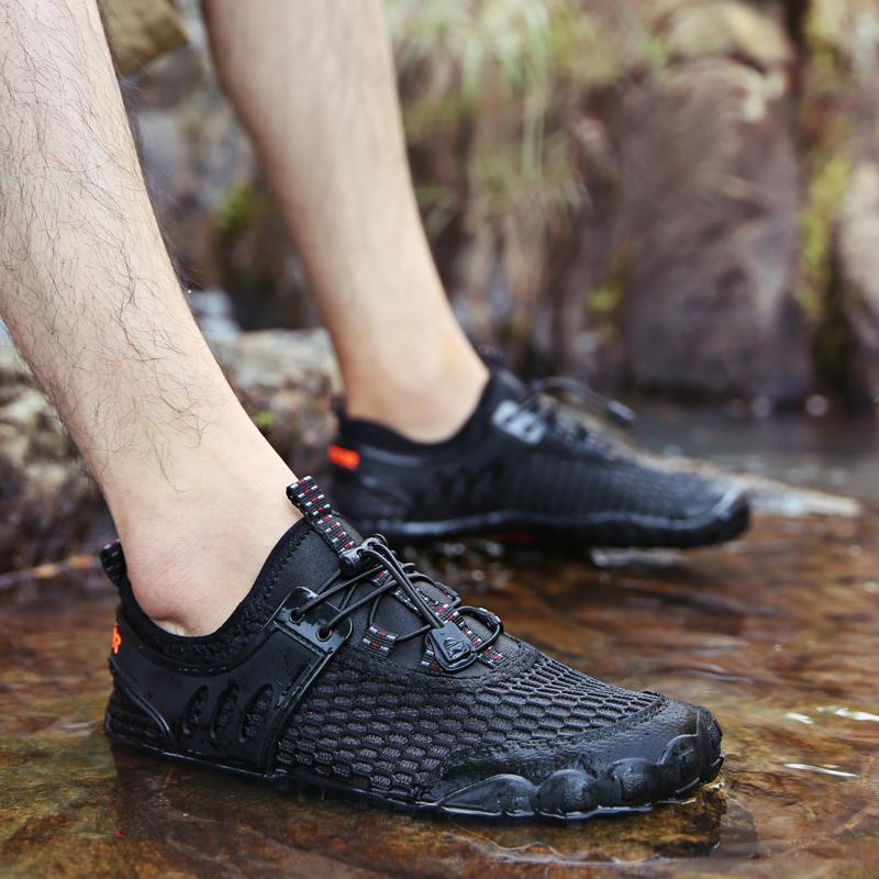 Men Outdoor Beach Barefoot Water Shoes  (Please go up 1 Size)