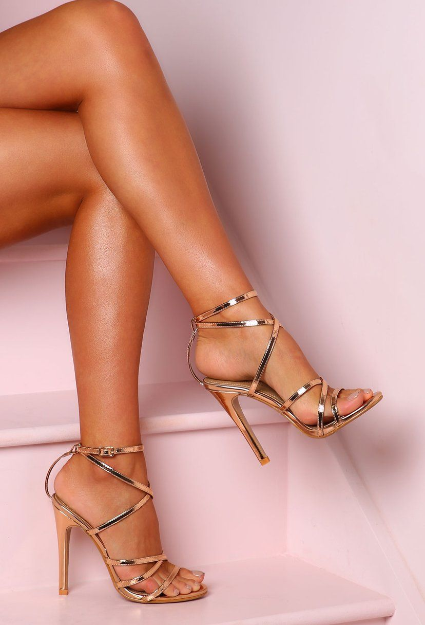 Trendy High Heel Shoes Online Shoe Stores Black Strappy Shoes