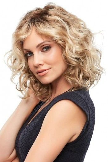 Lace Front Wigs Melania Blonde Hair Loose Curly Blonde Wigs Black To Platinum Blonde