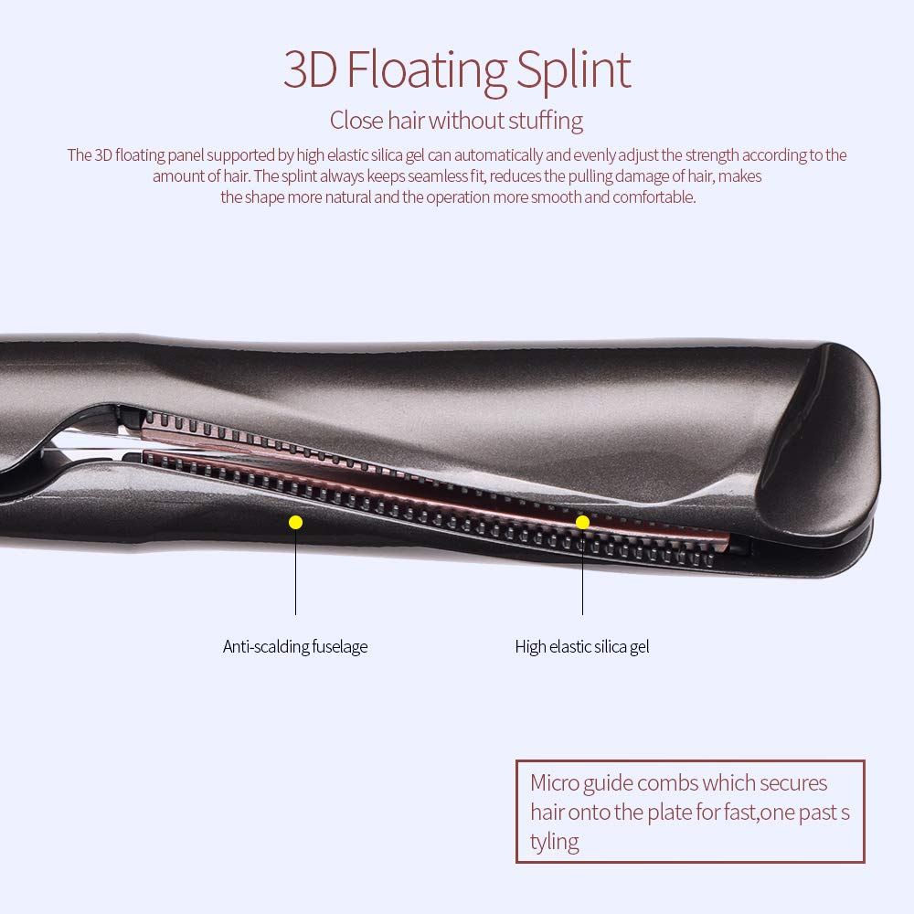 (50% Promotion Now!!!)2 in 1 hair curler and straightener