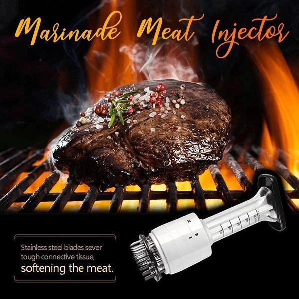 Stainless Steel Marinade Meat Injector (Buy 2 free shipping)