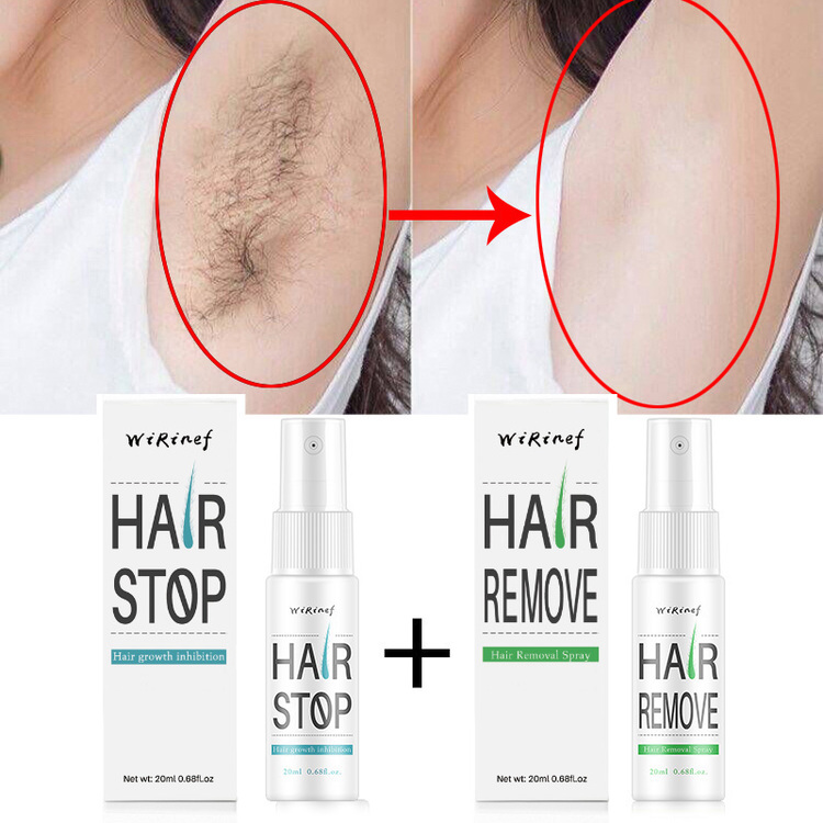 (50% OFF NOW!!!)<br>100% Natural Painless Hair Removal Spray