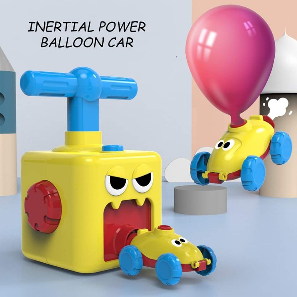 2020 Educational Toy - Balloon Powered Car & Rocket