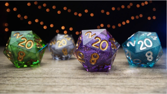💎The most interesting product of 2020💎 Gem dice set