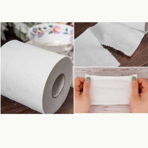 AHOME7 12 Rolls Toilet Roll Paper  | 5-Ply |  Bathroom Tissue Toilet Paper | Strong Soft Skin-friendly