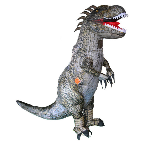 Blow Up Dinosaur Costume Kids Ralph Rex Halloween Costume
