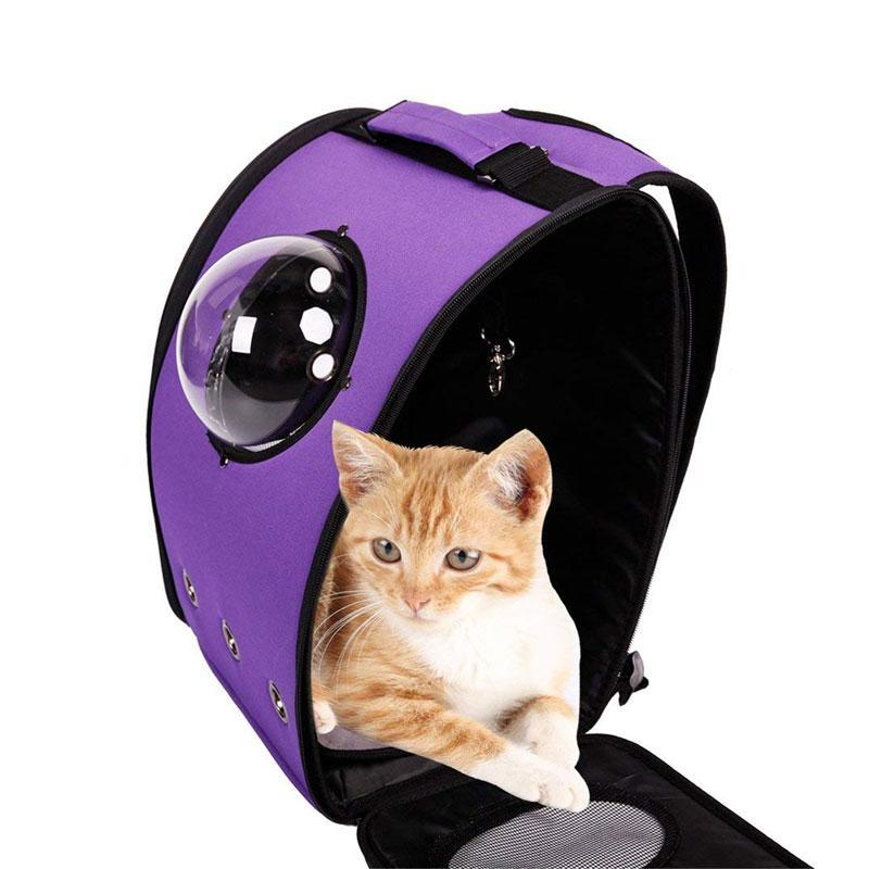 Breathable Bubble Window Capsule Pet Carrier Backpack for Cat/Dog/Puppy