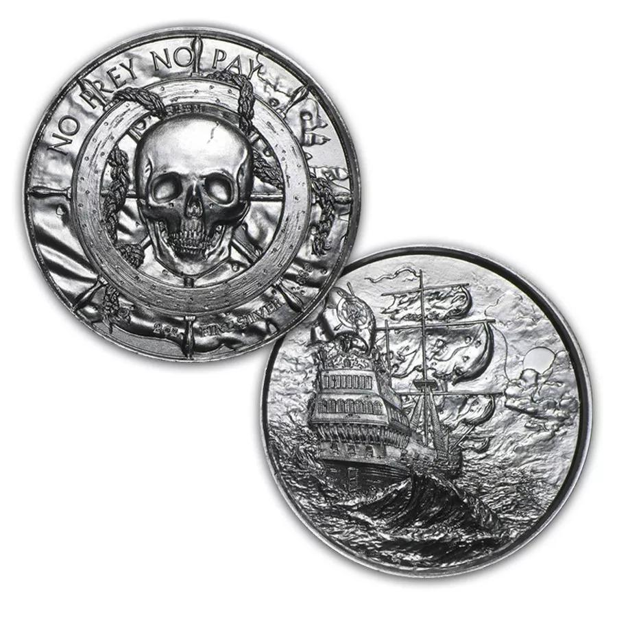 Ultra High Relief Coin - the Privateer 1
