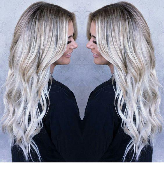 2020 Fashion Ombre Blonde Wigs Affordable Human Hair Lace Front Wigs