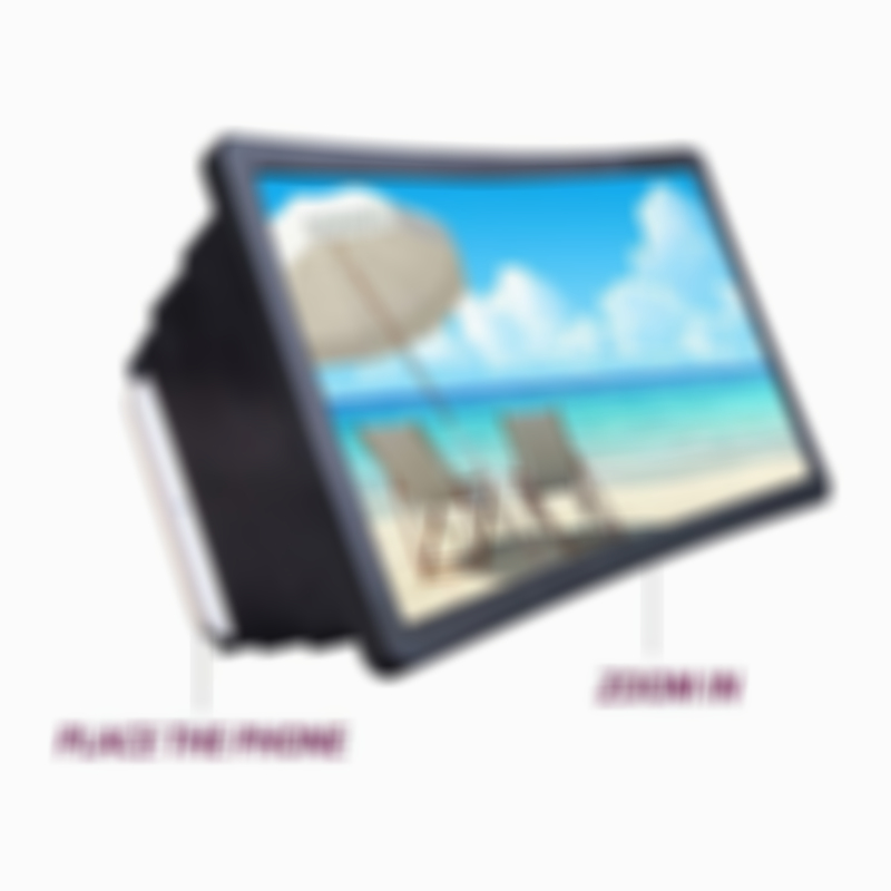 Portable Screen Magnifier Amplifier Universal  (Compatible With All Phones)
