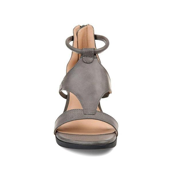 Faddishshoes Women Casual Daily Wedge Sandals