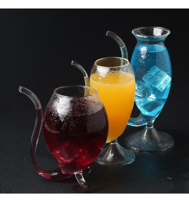 Drink Glass Resistant Sucking Cup Tea (3 PCS Free shipping)