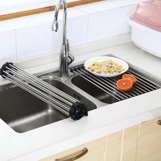 (🎄New Year Sale🎄-50% OFF) Roll-Up Sink Rack- Buy 2 Free Shipping