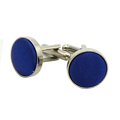 Cufflinks Hamburger Vintage Brooch Jewelry Brown Red Blue For Engagement Gift