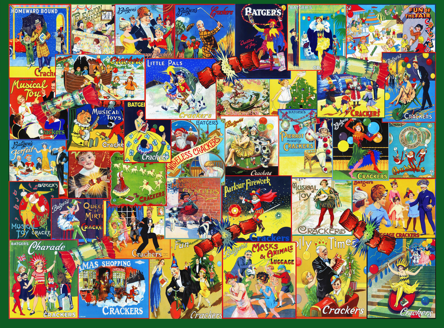 Memorable Happy Christmas puzzle  (Any 2 Free Shipping)