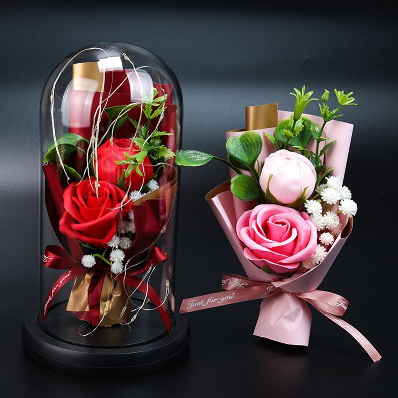 Valentine's Day Mother's Day Christmas Gift LED Rose Light