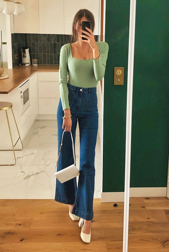 Jeans Outfit For Women Casual Wear Summer Trousers Sporty Casual Look Fashion Designer Dress Long Sleeve Sweater Dress Casual Comfy Clothes