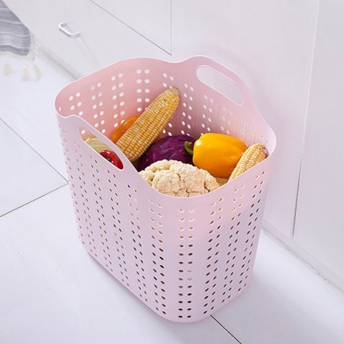 SKRTEN Large Size Portable Storage Basket for Dirty Clothes
