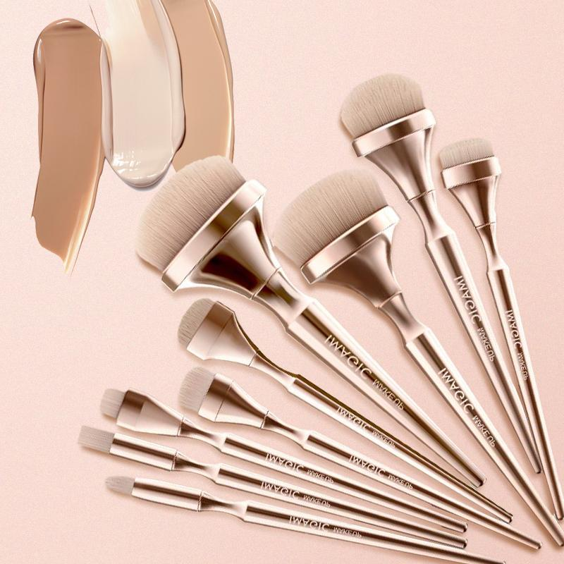 9 in 1 All in One Professional Makeup Brush Set