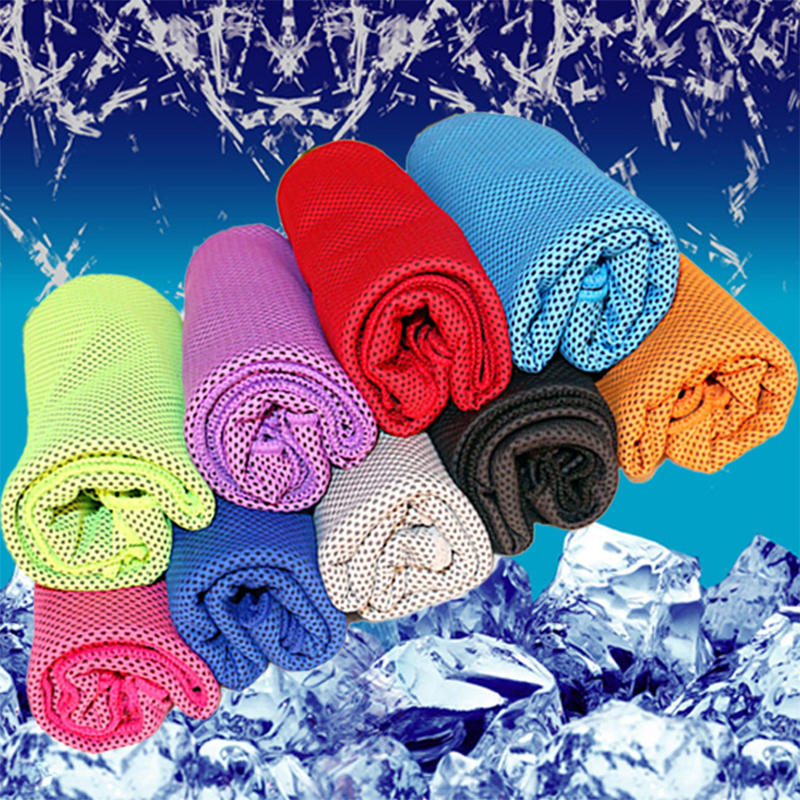 🔥Men's and women's sports cold towel---Outdoor fitness sweat-absorbent quick-drying