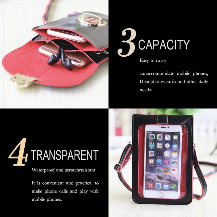 Touchable PU Leather Change Bag(✨50% off Last day Promotion✨ Mobile Phone Bag)