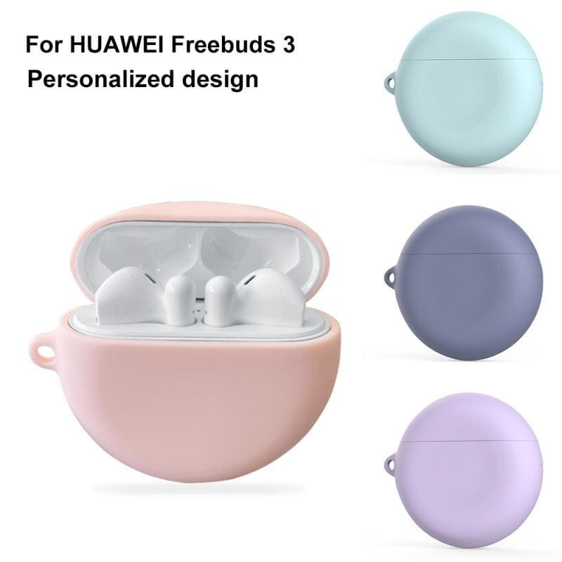 Earphone Cases For Huawei FreeBuds 3 Case Cute Style Soft Silicone Anti-Slip Protective Case For FreeBuds 3