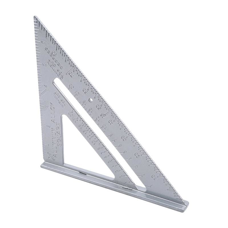 Triangle  Ruler  Stainless Steel Protractor Miter  Carpenter Measurement Tool
