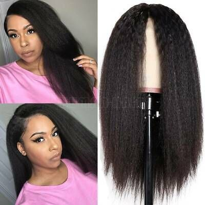 2020 New Straight Wigs Black Long Hair Long Straight Hair With Fringe Brazilian Straight Closure