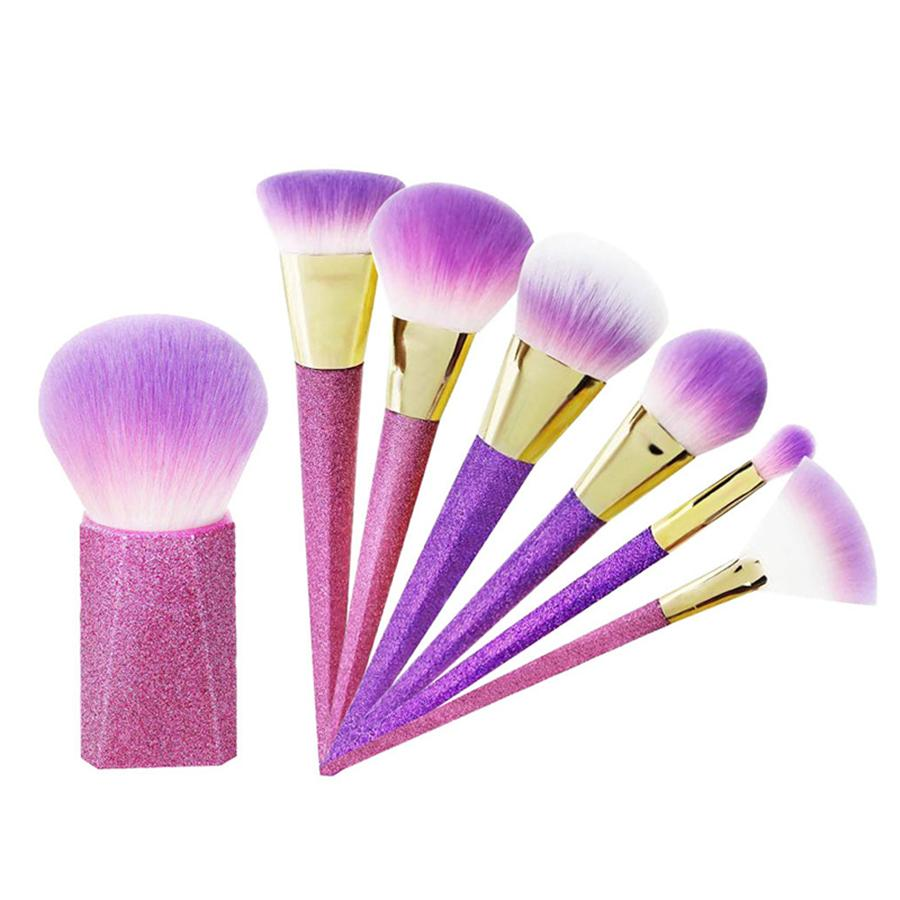 7 in 1 Makeup Brushes