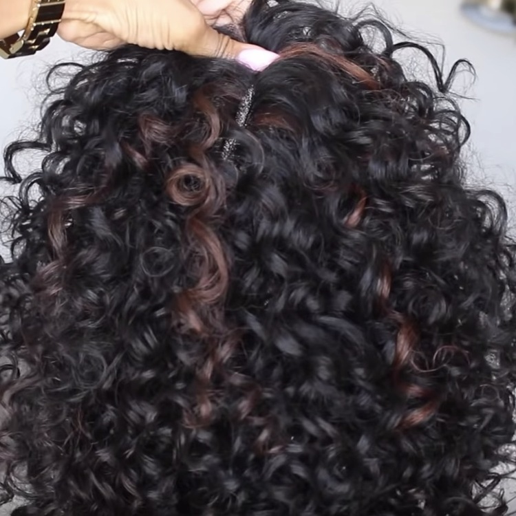 【Popular Series】 Super Cute Afrokinky Curly WIG Lace Wig