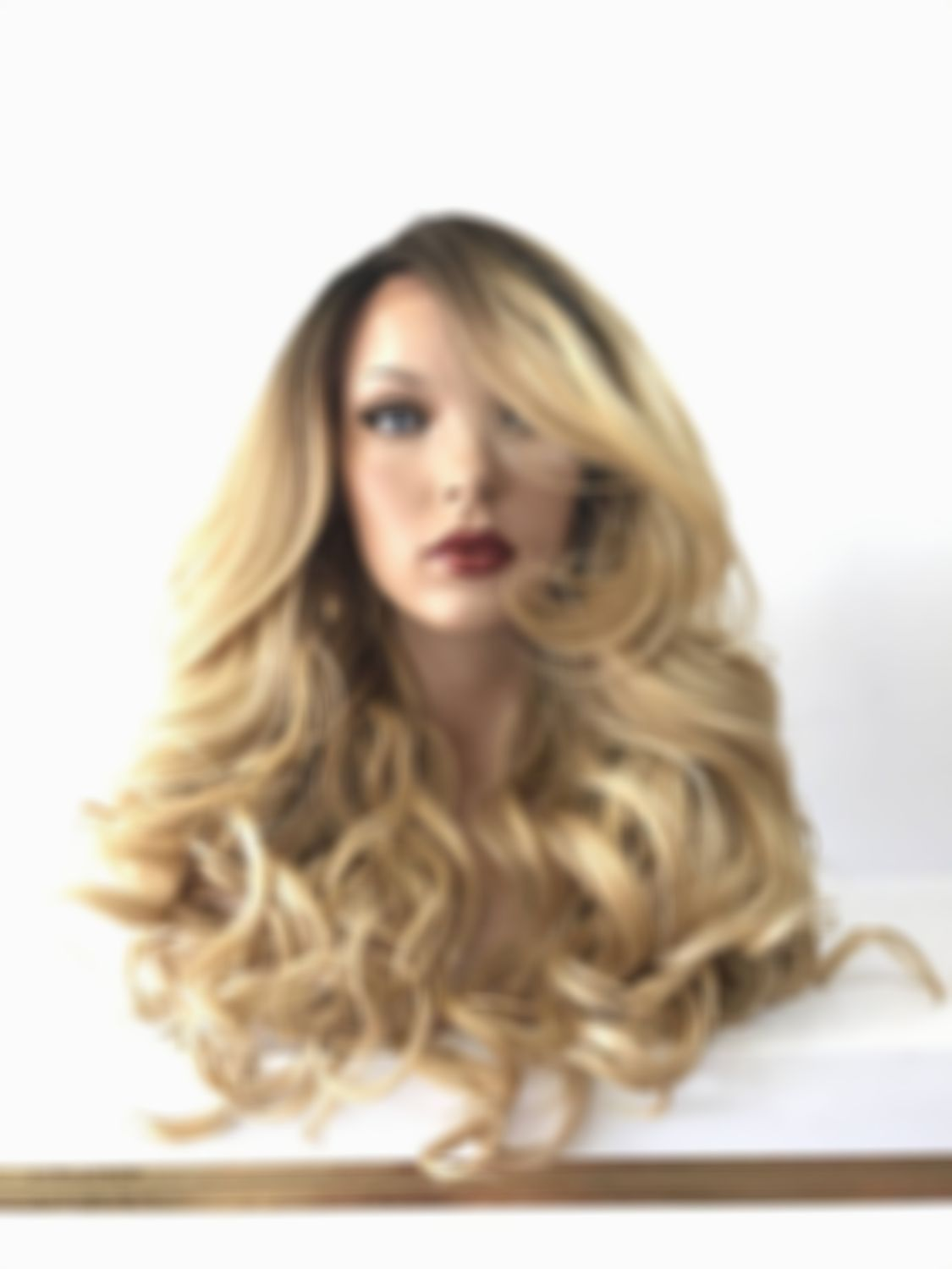 2020 Fashion Blonde Wigs For White Women Blonde Sandy Wig Bleached Hair Treatment Honey Blonde Wig Best High Lift Blonde Hair Color Blond Grey Hair Lace Frontal Wigs