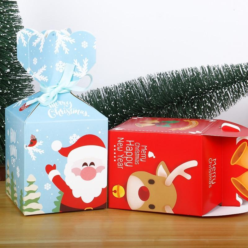 Merry Christmas Decorations Gift Boxes