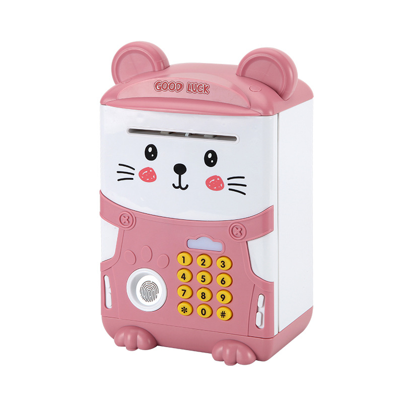 Fingerprint electronic piggy bank toy